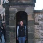 Dunedin Castel  Wachfrau Pia (1)